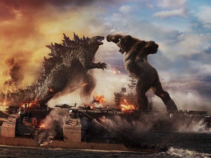 """""""Godzilla बनाम"""" के लिए वीडियो शानदार स्पेशल इफ़ेक्ट के साथ कोंग """"फिल्म"""