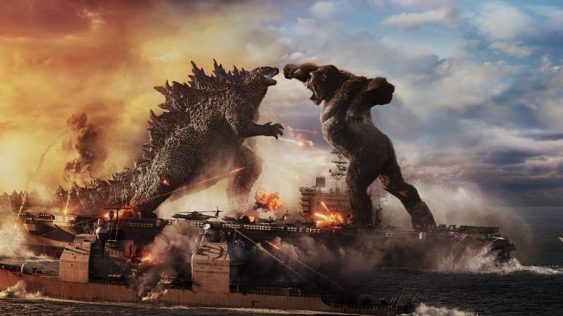 "El video de ""Godzilla vs. Kong ""la película con espectaculares efectos especiales"