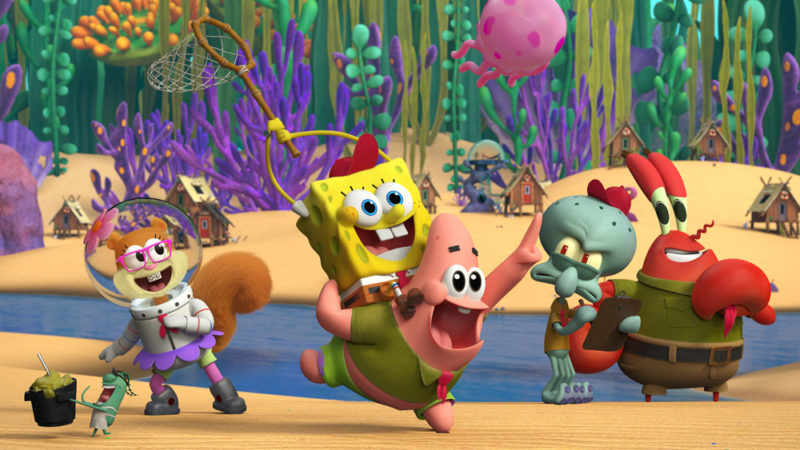 Nient'altro che Net! Nick Sneak Peeks 'Kamp Koral: SpongeBob's Under Years'