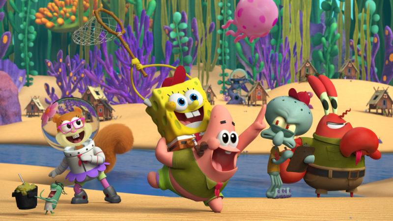 Niets dan net! Nick Sneak Peeks 'Kamp Koral: SpongeBob's Under Years'