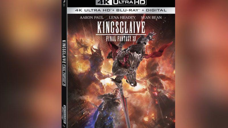 Kingsglaive: Final Fantasy XV verrà rimasterizzato per l'home video