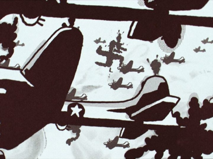 """다이앤 웨이스와 피오트르 카 바트가 그들의 강력한 단편 영화 """"경미한 전쟁 사고""""에 대해 이야기합니다."""