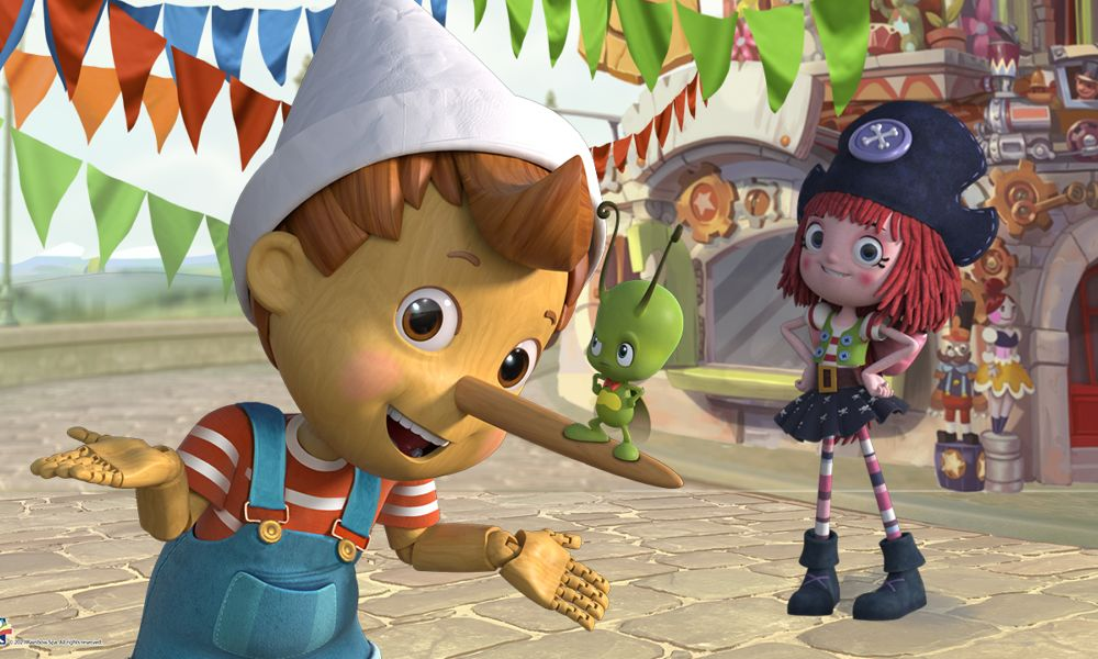 """""""Pinocchio and Friends"""" la nuova serie per bambini della Rainbow e Toonz"""