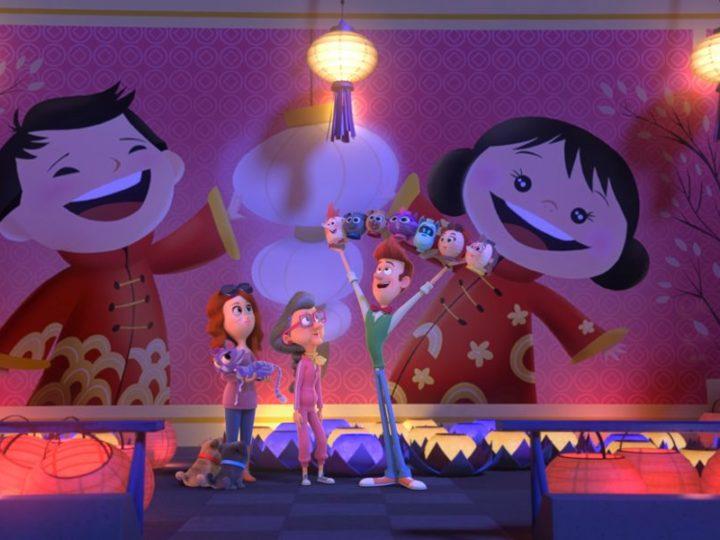 """क्लिप: """"पप्पी डॉग पाल्स"""" में चीनी नव वर्ष पर पगड़ी बजाते हैं"""