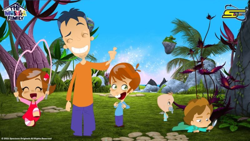 "Spacetoon svela il nuovo originale ""The Moshaya Family Animation"""