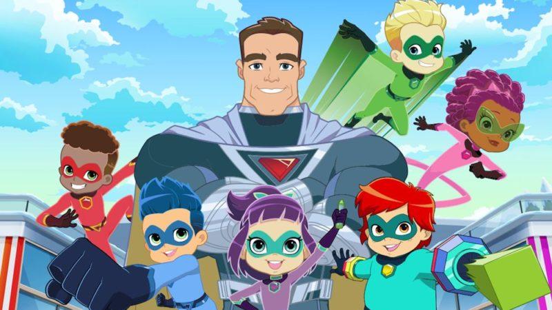 """新儿童超级英雄系列""""斯坦李的超级英雄幼儿园"""""""