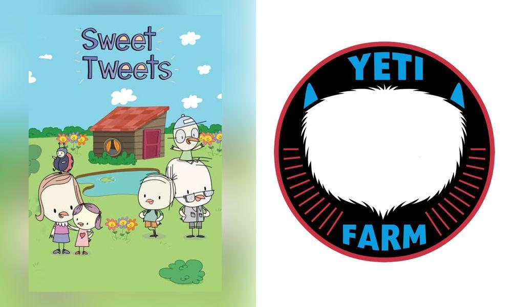 Sweet Tweets la serie animata prescolare prodotta da Yeti Farm