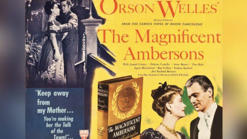 Un animazione aiuterà a ripristinare parte del film di Orson Welles I magnifici Ambersons