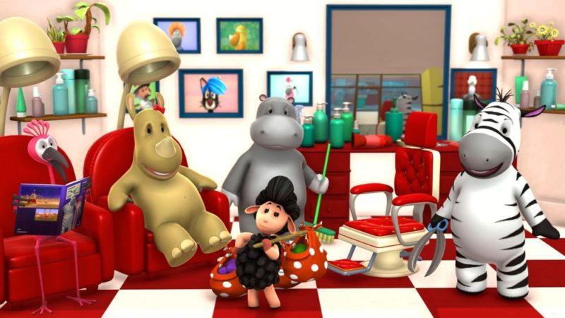 """Animowany serial """"Zeze Zebra"""" autorstwa Keyframe Studios"""