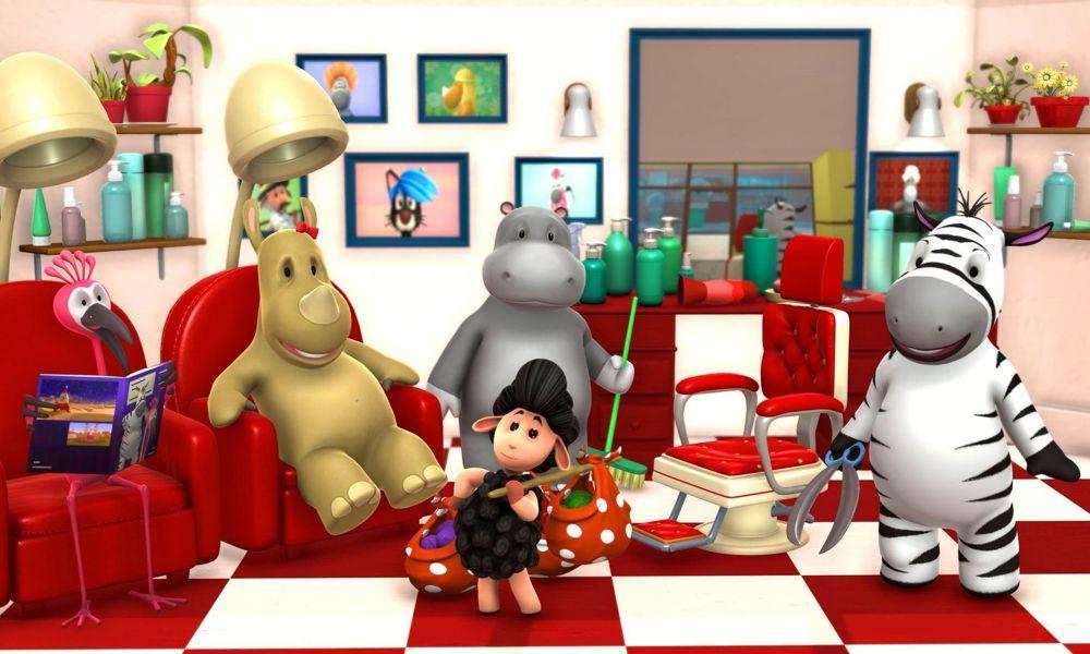 "La serie animata di ""Zeze Zebra"" di Keyframe Studios"