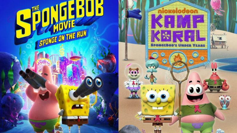 """Sponge on the Run"" och ""Kamp Koral"" sänds på Paramount + Premiere den 4 mars - video"