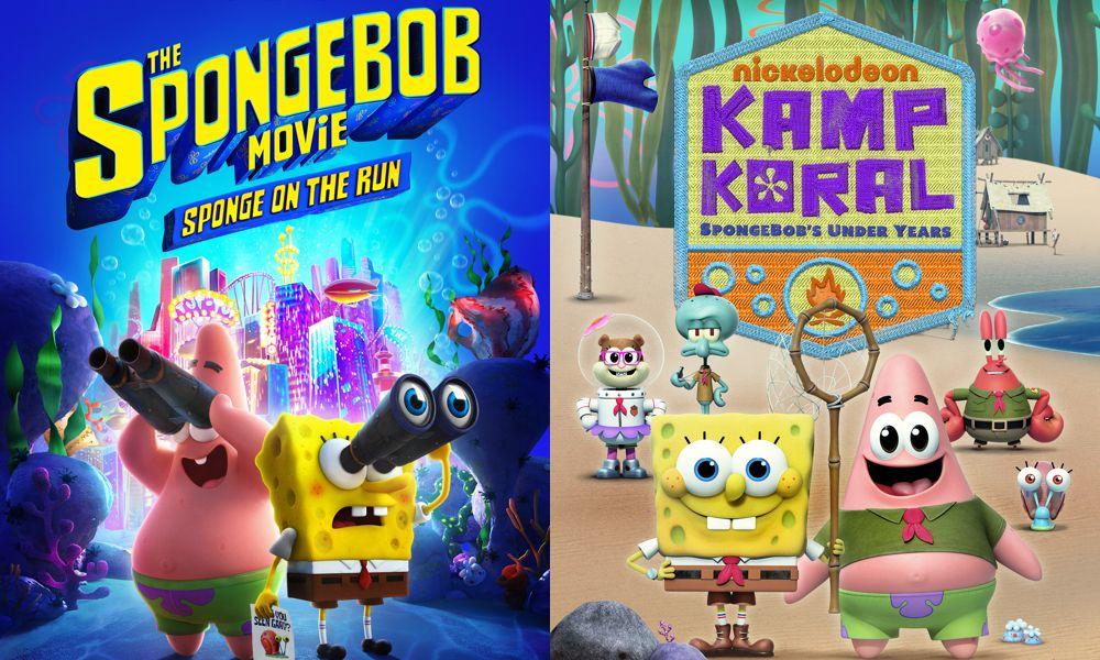 """""""Sponge on the Run"""" e """"Kamp Koral"""" verranno trasmessi su Paramount + Premiere il 4 marzo – video"""