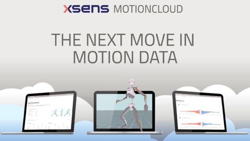 Xsensがベータ版のCESでMVN用のMotionCloudを発表
