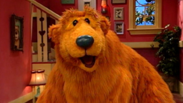 Björn i det stora blå huset - Barns tv-serie med animerade dockor