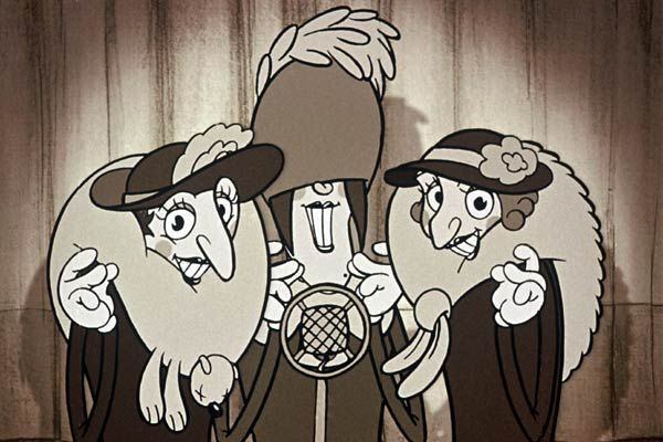 Appuntamento a Belleville – Il film di animazione di Sylvain Chomet del 2003