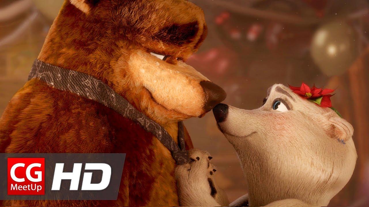 """Il cortometraggio """"Bear With Me – Love Story"""" di Rodrigo Chapoy da CGMeetup"""