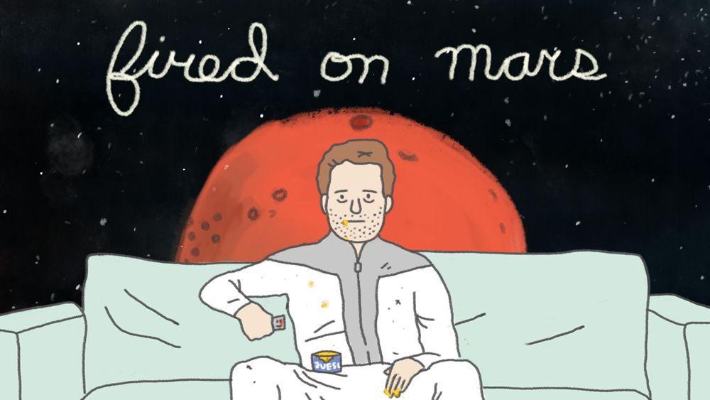 Sparato su Marte