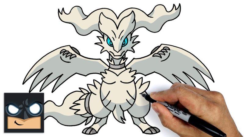 Come disegnare Reshiram dei Pokemon