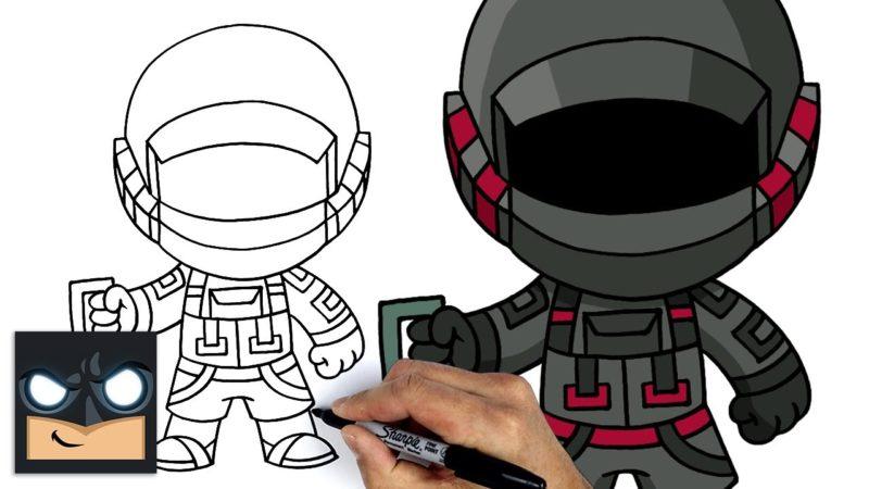 Hur man ritar Fortnite Kondor