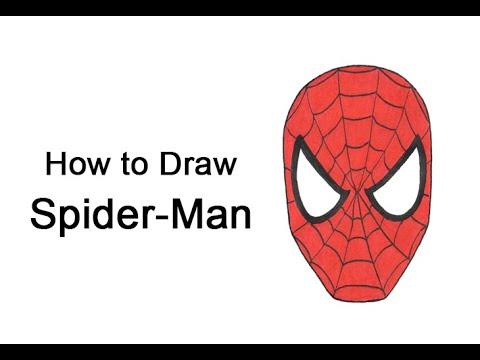 Hur man ritar Spider-Man's head