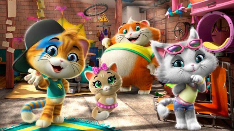 44 बिल्लियों - स्टूडियो इंद्रधनुष की एनिमेटेड श्रृंखला