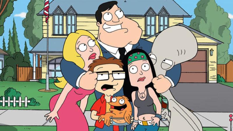 American Dad - serial animowany Setha MacFarlane'a
