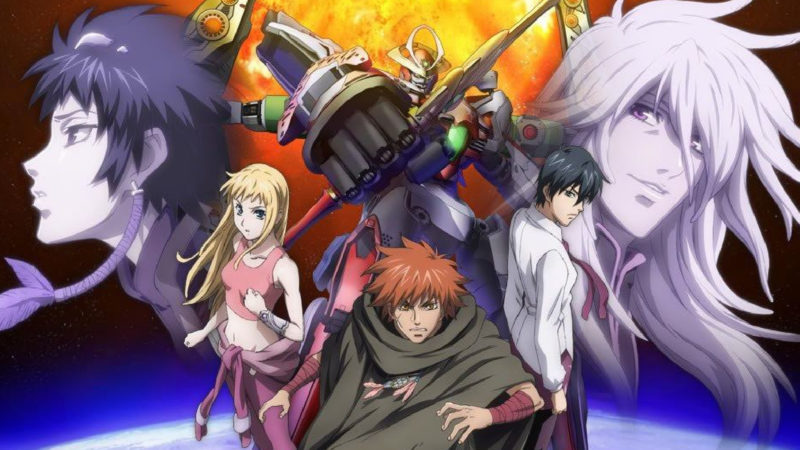 Aquarion - japoński serial animowany science fiction i roboty (2005)