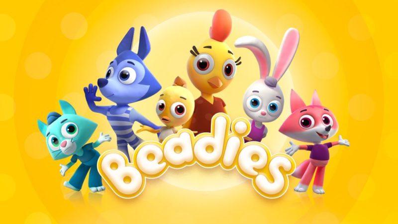 Beadies, den animerade serien för barn från 0 till 3 år av Studio Platoshka