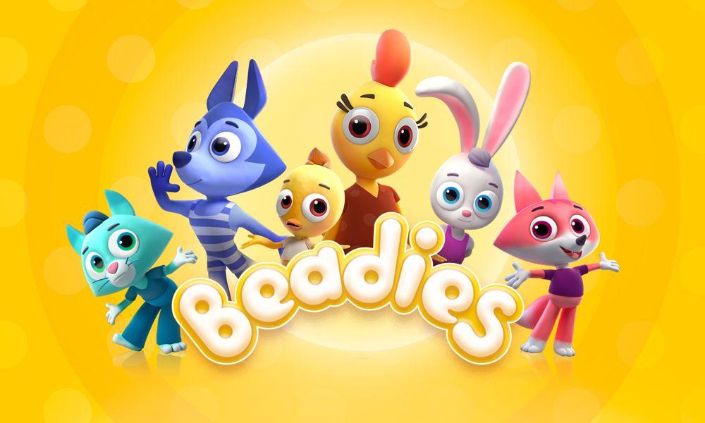 Beadies la serie animata per bambini da 0 a 3 anni dello Studio Platoshka