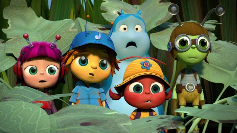 Beat Bugs - serial animowany z 2016 roku