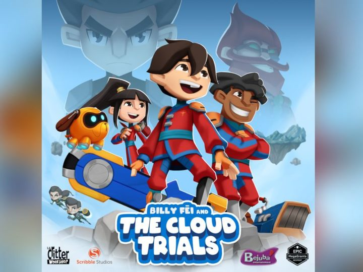 """Billy Fei and the Cloud Trials"", la serie animada de Scribble Studios y Lil Critter Workshop"