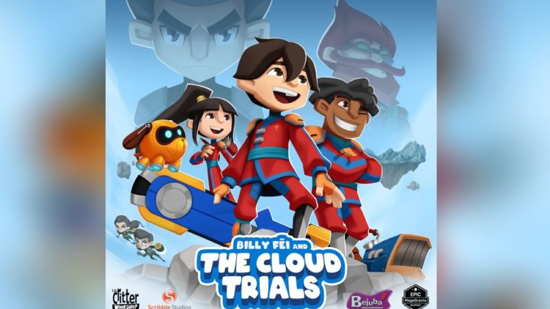 """Billy Fei and the Cloud Trials"" la serie animata di Scribble Studios e Lil Critter Workshop"