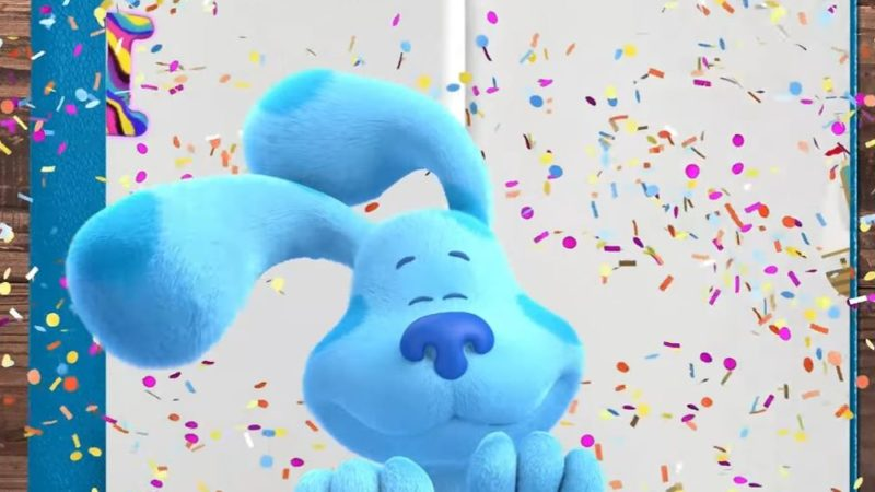 """Blue's Clues & You"" es la canción del alfabeto"