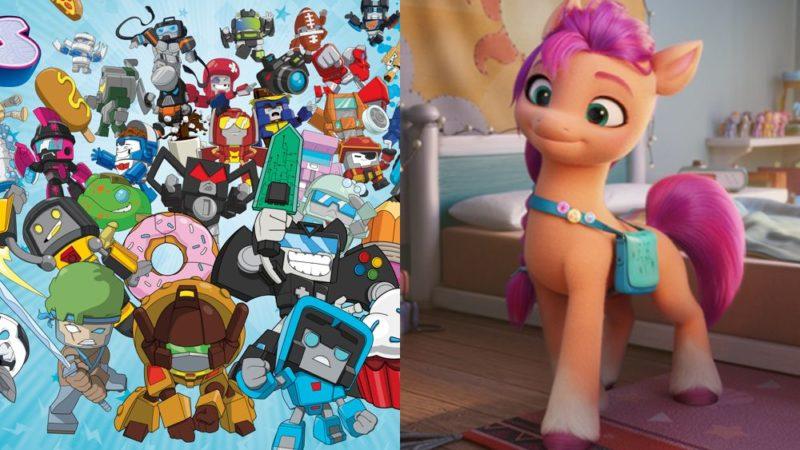 Netflixスレート「トランスフォーマー:ボットボット」と「マイリトルポニー」G5シリーズ
