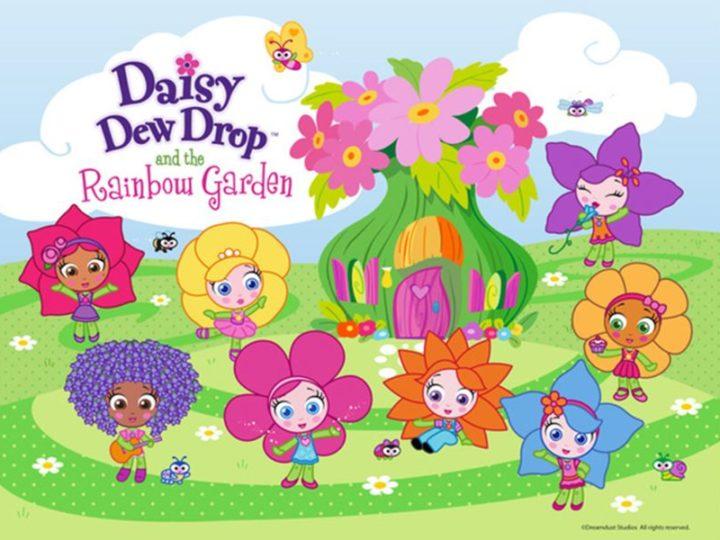 Daisy Dew Drop e Rainbow Garden la serie animata per bambini