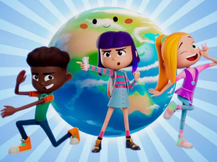 """El tráiler de la nueva serie animada de ciencia ficción """"FriendZSpace"""""""