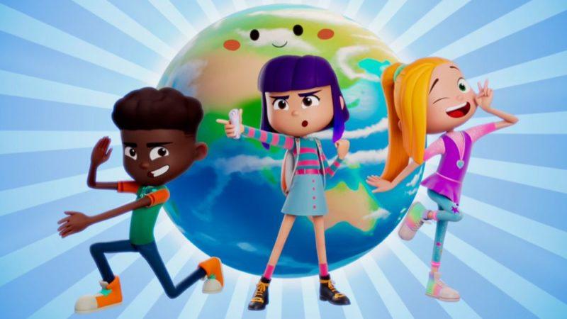 """新的动画科幻小说系列"""" FriendZSpace""""的预告片"""