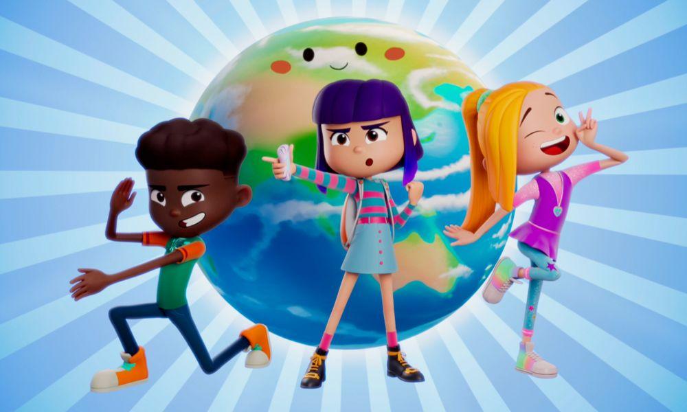 """Il trailer della nuova serie animata """"FriendZSpace"""" di fantascienza"""