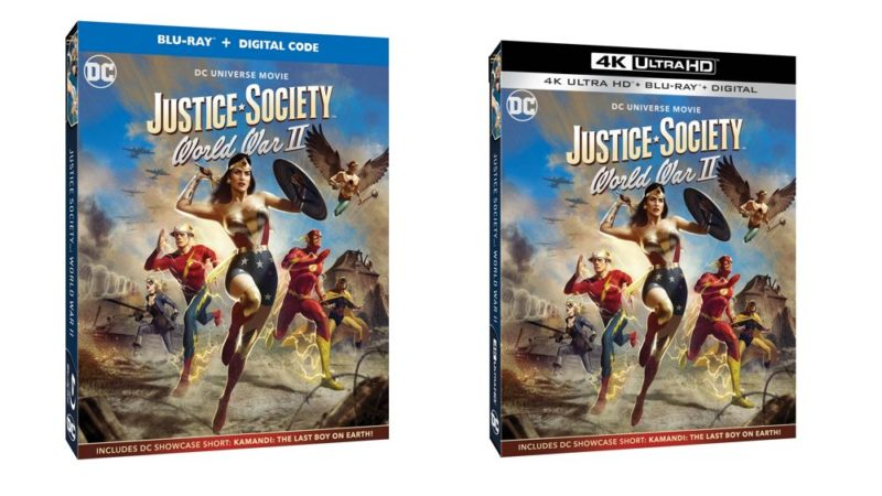 """Justice Society: World War II"" il film di animazione dei supereroi DC Comics"