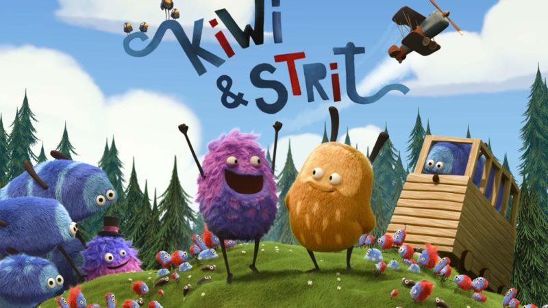 子供向けアニメコメディシリーズ「Kiwi&Strit」
