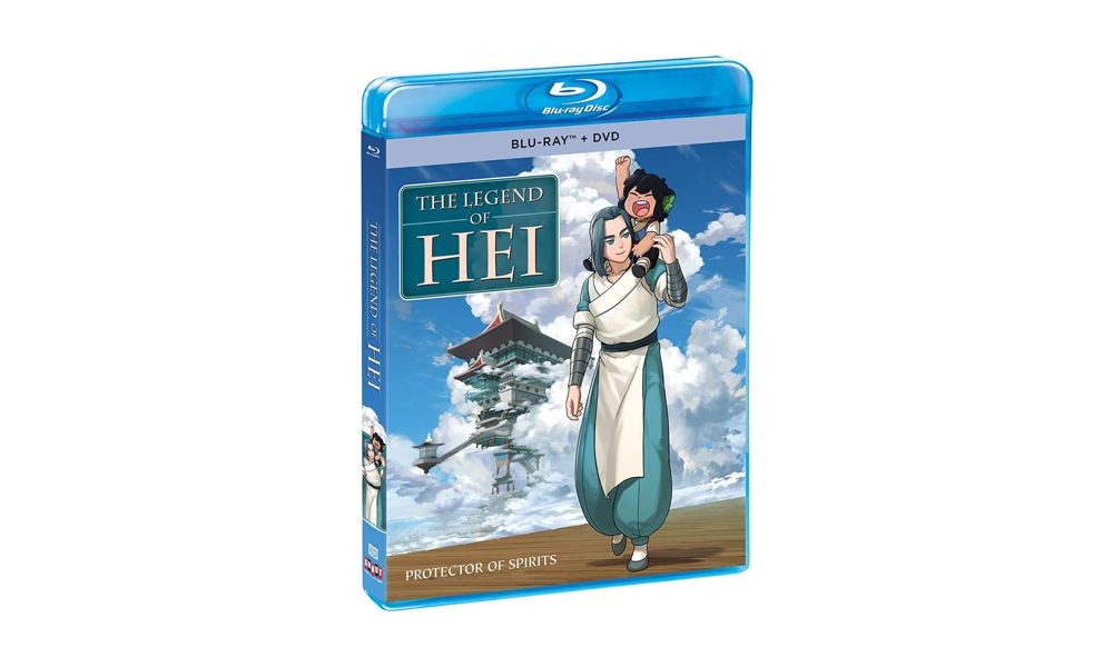 """Il commovente fantasy """"The Legend of Hei"""" uscirà in DVD in Nord America"""
