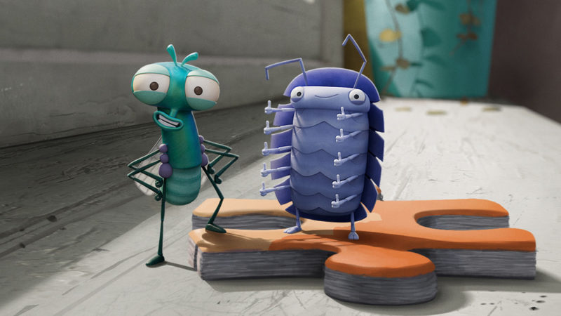 Lloyd of the Flies - Aardmans nya CGI-animerade serie