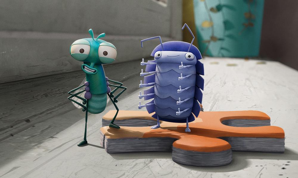 Lloyd delle mosche – la nuova serie animata in CGI di Aardman