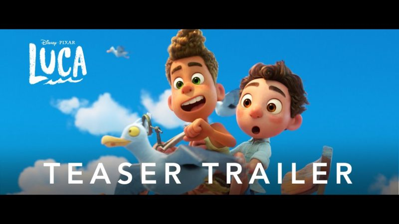 Luca - trailern för Disney Pixar animerade film