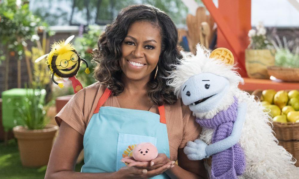 """La serie di Michelle Obama """"Waffles + Mochi"""" arriva su Netflix il 16 marzo"""