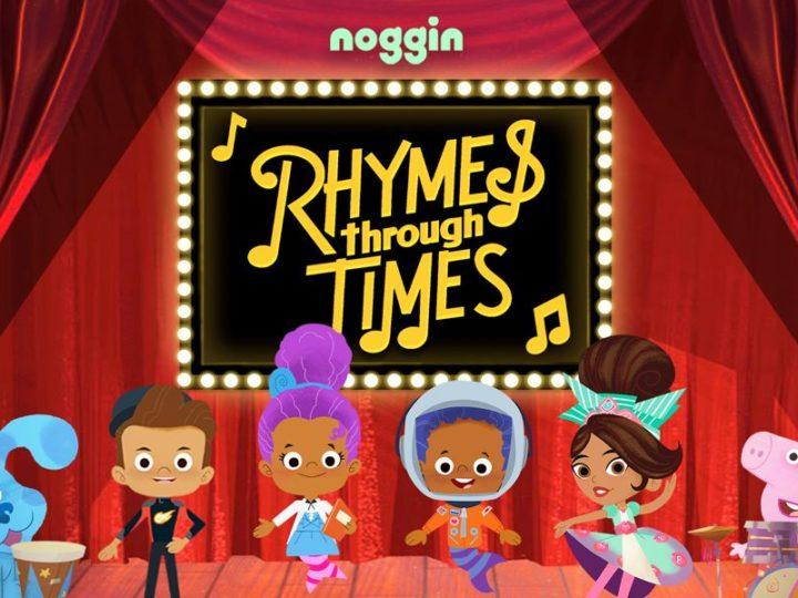 """Las caricaturas de Noggin celebran la cultura afroamericana con """"Rhymes Through Times"""""""