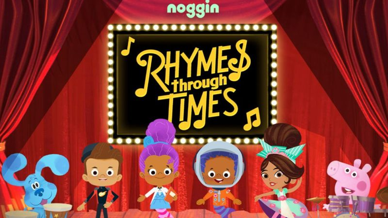 "I cartoni animati di Noggin celebrano la cultura afro americana con ""Rhymes Through Times"""