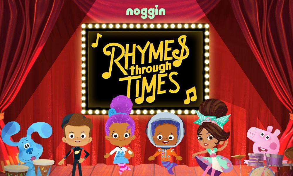 """I cartoni animati di Noggin celebrano la cultura afro americana con """"Rhymes Through Times"""""""