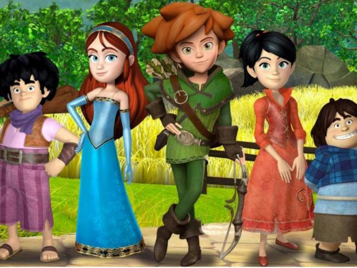 Robin Hood-Conquering Sherwood-Rai Gulp의 애니메이션 시리즈