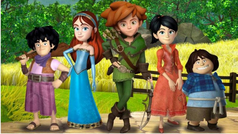 Robin Hood - Conquering Sherwood - Den animerade serien på Rai Gulp